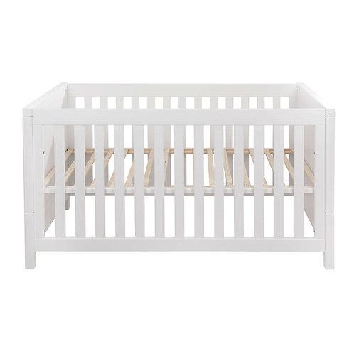 STRIPE מיטת תינוק לבנה