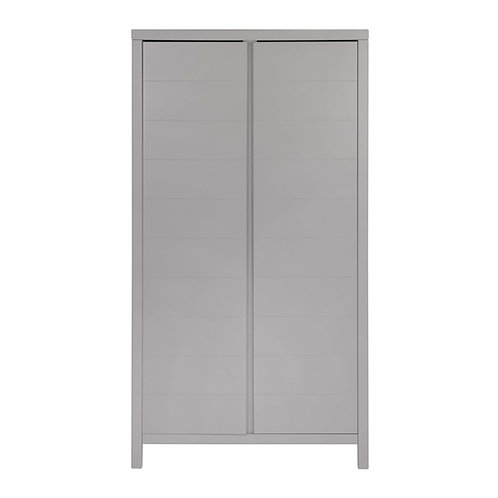 STRIPE ארון שתי דלתות אפור