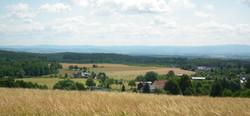 Blick nach Böhmen