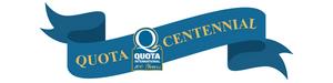 Quota Centennial Banner BOLD