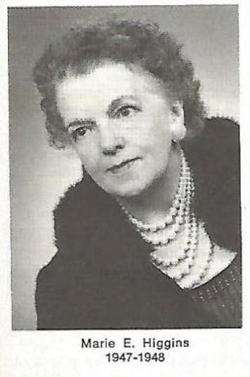 marie higgins