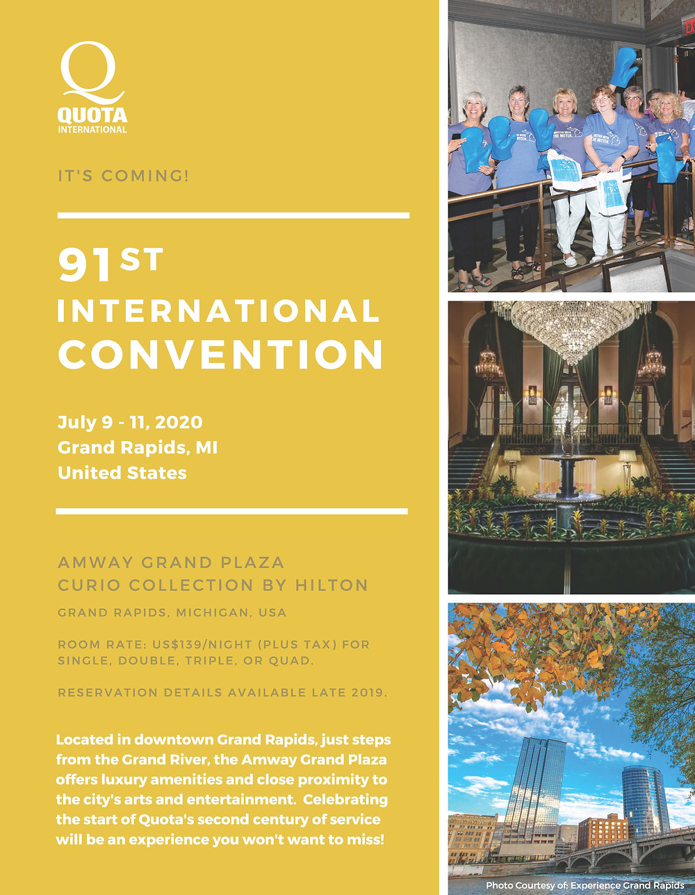 91st International Convention Flyer FINAL