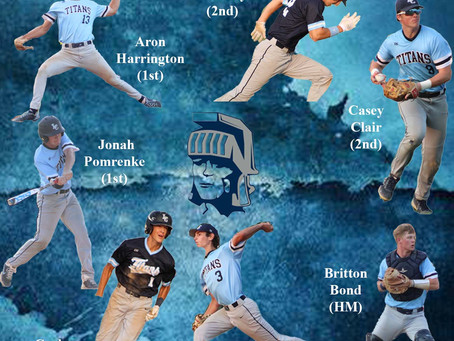7 Titans named to Baseball All-Conference Honors