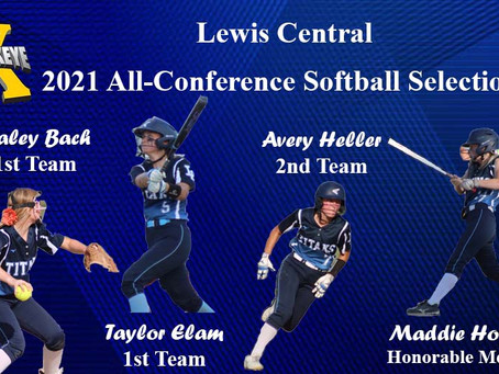 Softball Lands Four on All-Conference List