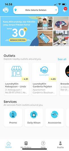 KliknKlin Aplikasi