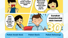 Laundry Antar Jemput Hemat ya KliknKlin Membership Aja!