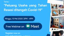 [WEBINAR] KliknKlin Talks: Peluang Usaha yang Tahan Resesi ditengah Covid-19