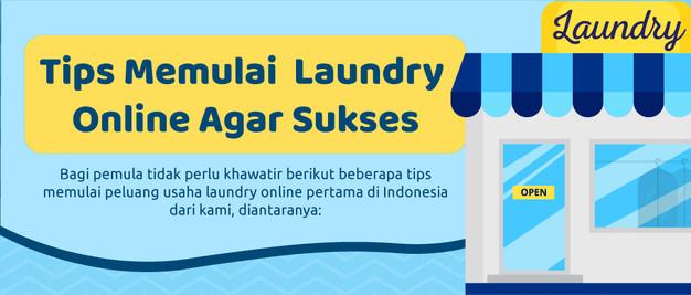 Peluang Usaha Laundry Online Pertama Di Indonesia