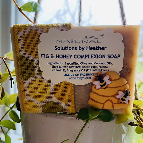 W - Fig & Honey Complexion Soap