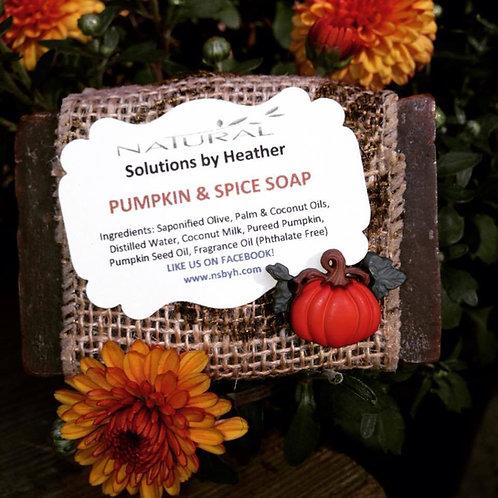 W - Pumpkin & Spice Soap