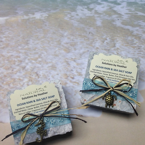 Ocean Rain & Sea Salt Soap