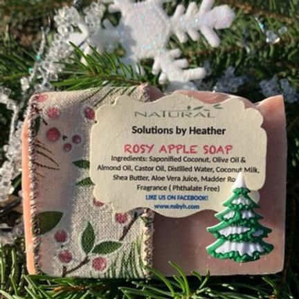 W - Rosy Apple Soap