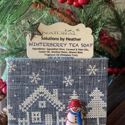Winterberry Tea Soap