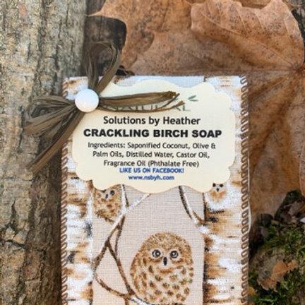 W - Crackling Birch Soap