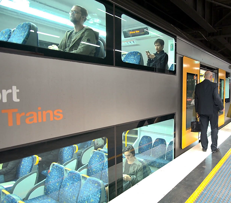 people-boarding-double-decker-train-in-s