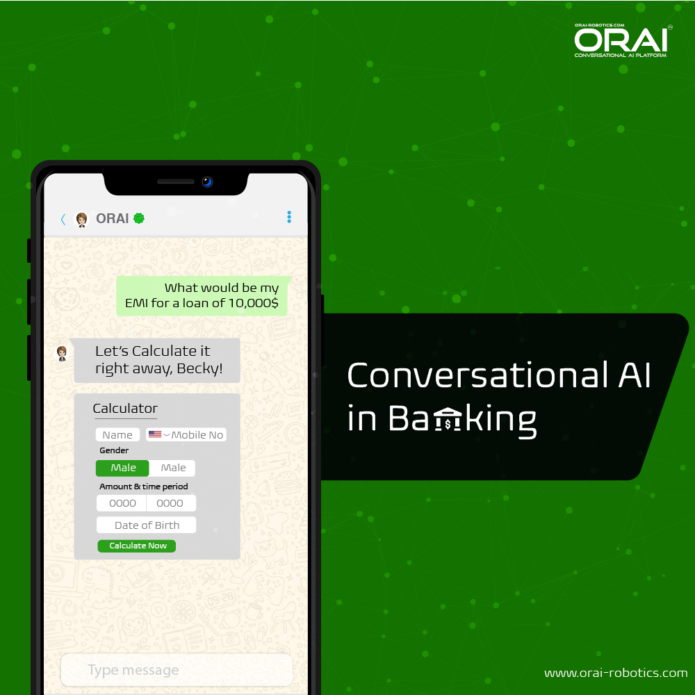 ORAI's blog on Top Use Cases & Benefits of AI Chatbot For BFSI