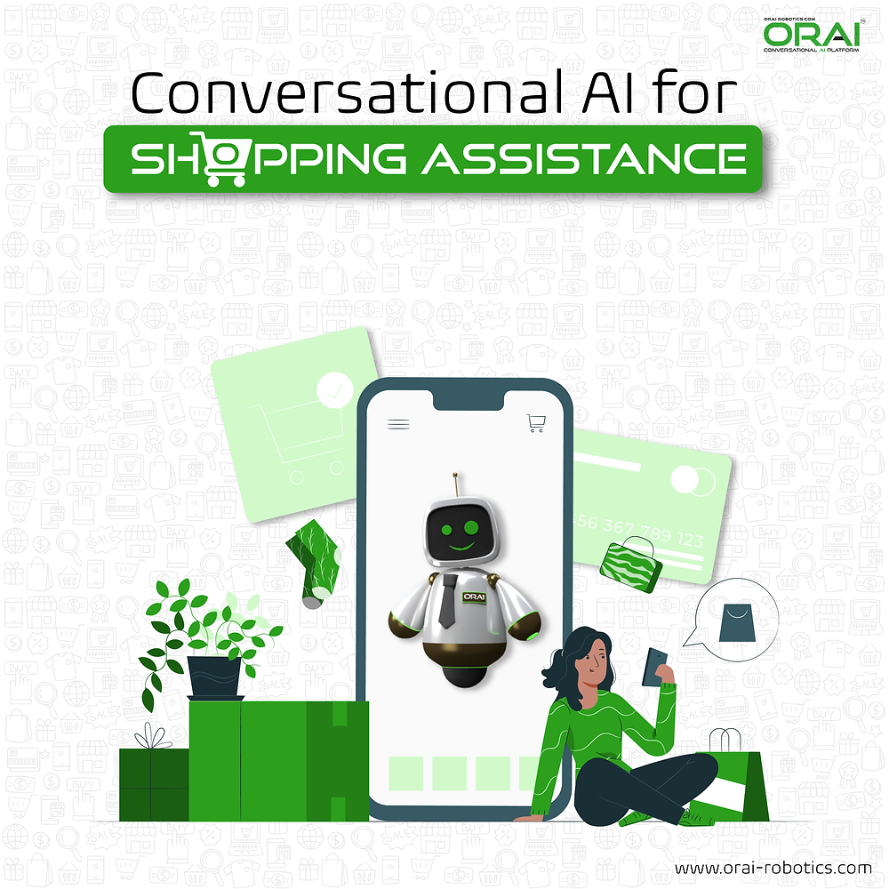 ORAI's blog on why your business needs Conversational AI for Shopping Assistance