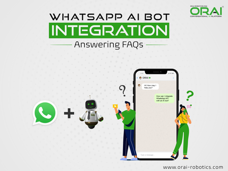 AI-Powered WhatsApp Chatbot Integration: Answering Frequently Asked Questions