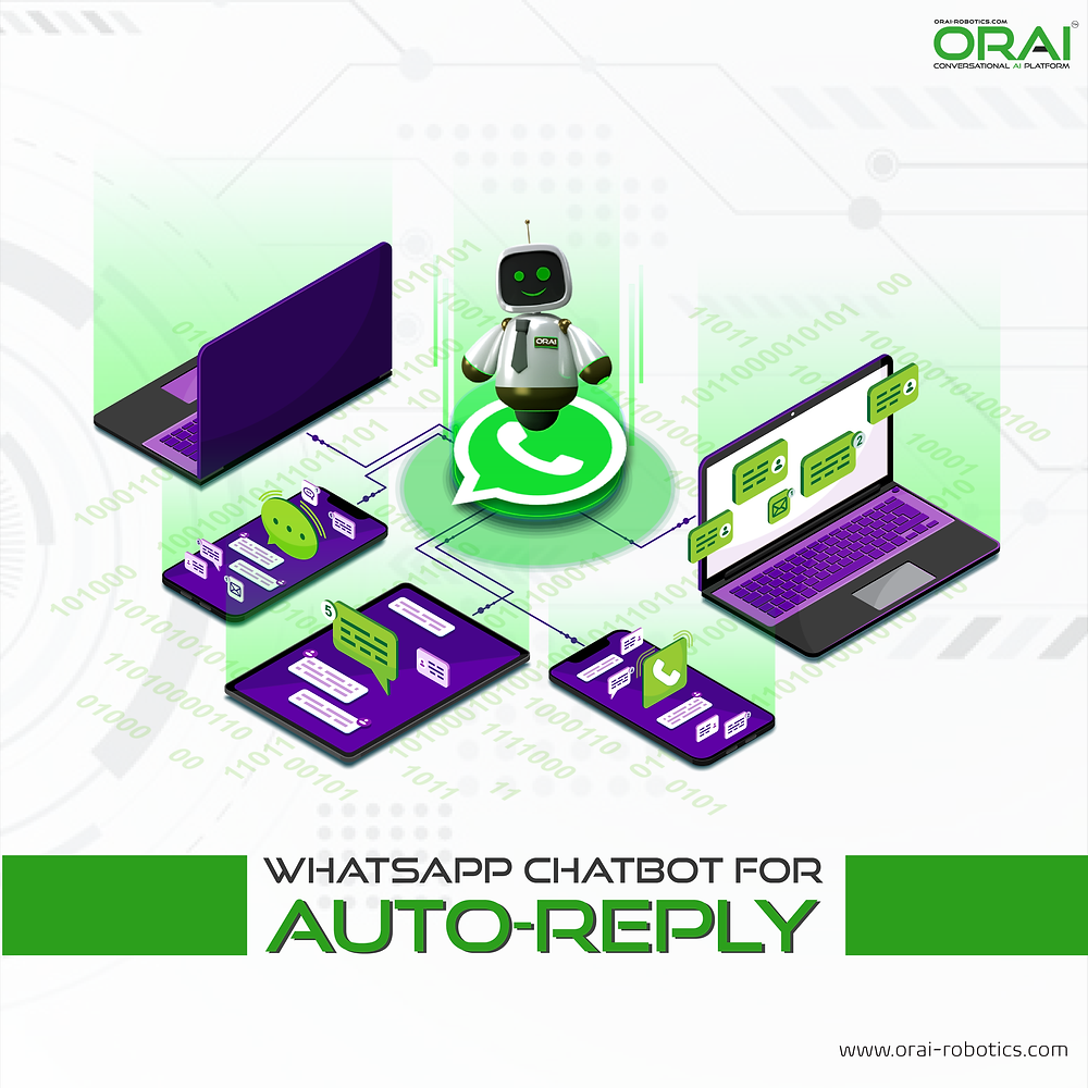 Orai's blog on WhatsApp chatbot for auto-reply.
