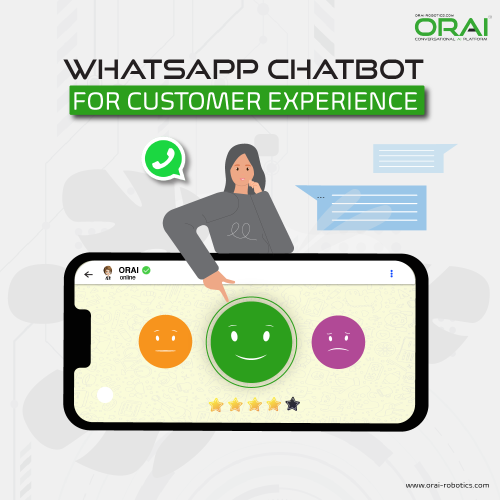 ORAI's blog on WhatsApp chatbot for customer experience