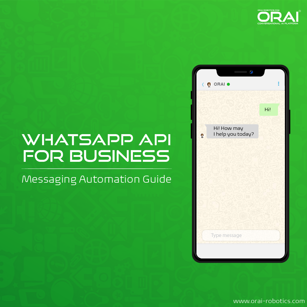 Orai's blog on WhatsApp API For Business