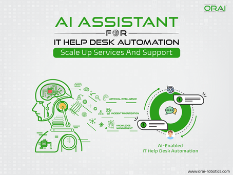 AI Assistant For IT Help Desk Automation: Scale-Up Services And Support