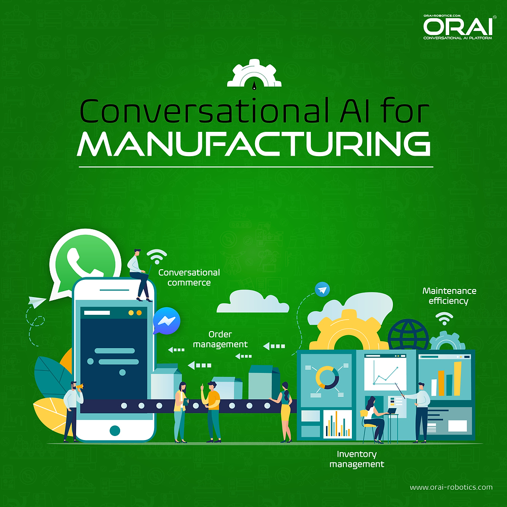 Orai's blog on Conversational AI for Manufacturing
