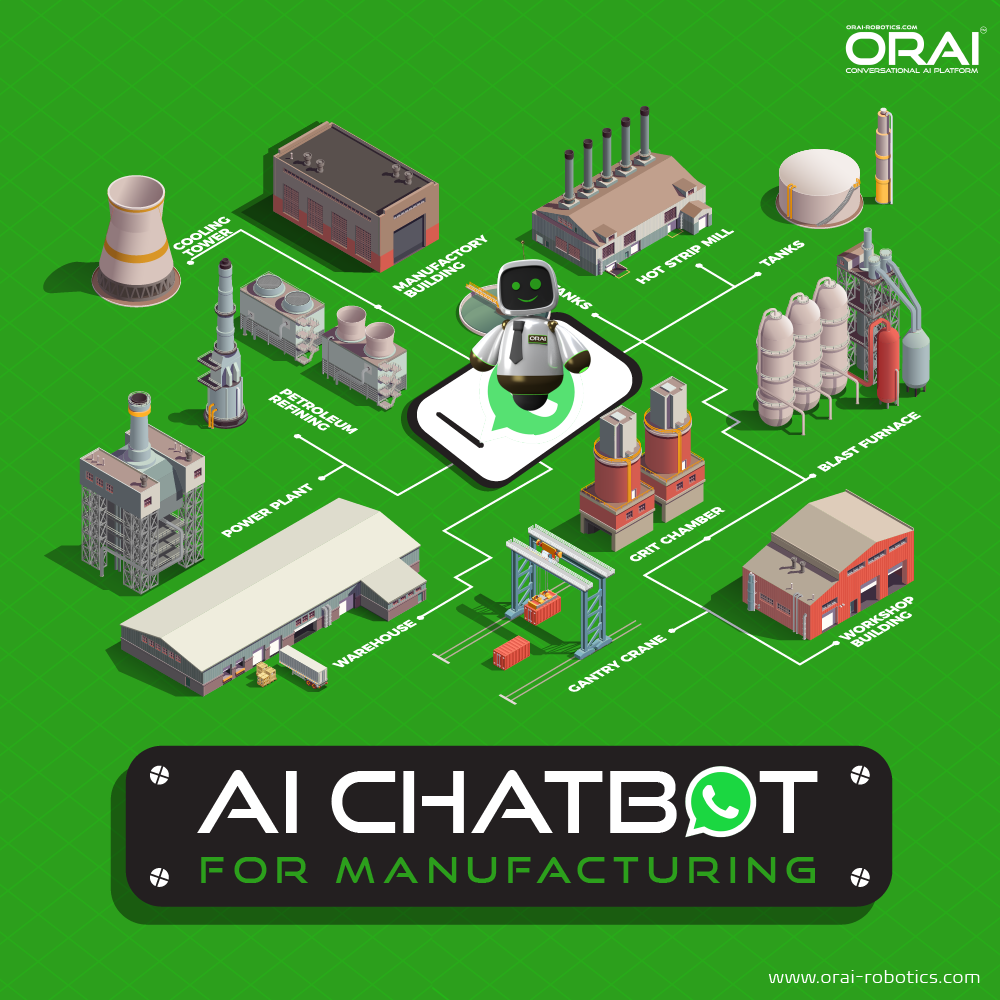 Orai's blog on AI chatbot for manufacturing