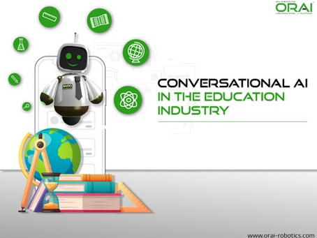 The Role of Conversational AI Assistants in disrupting the Education Industry