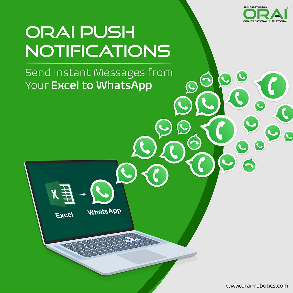 ORAi's blog on how to send instant messages from your Excel to WhatsApp