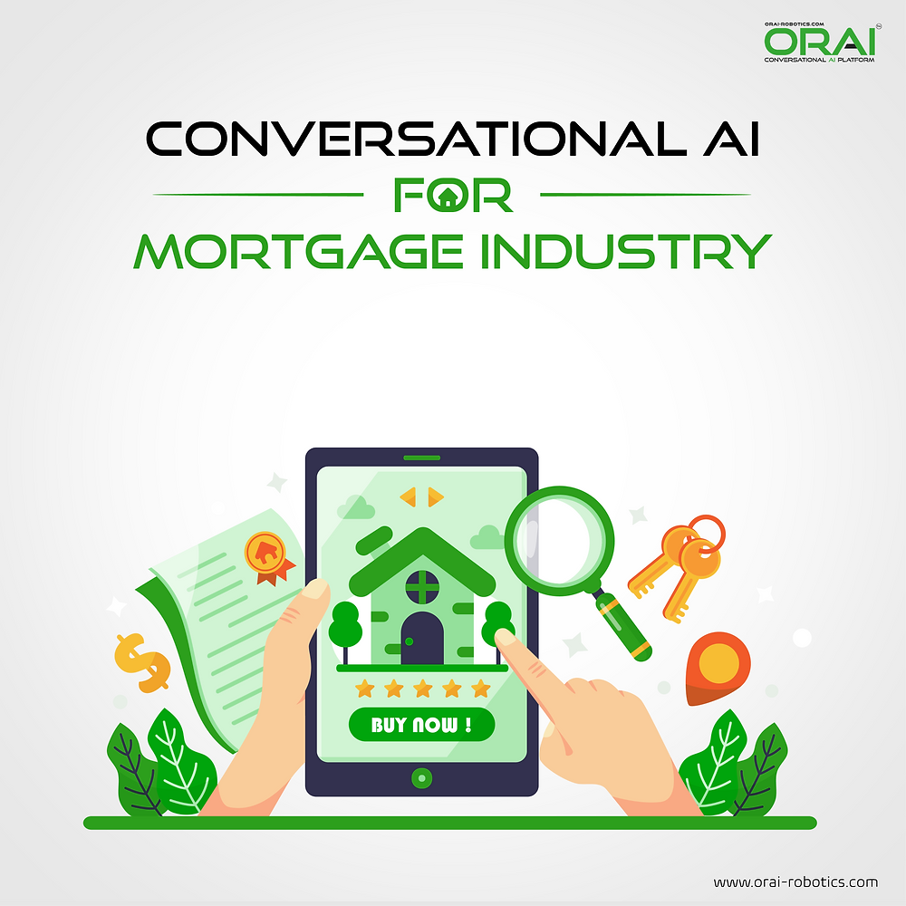Orai's blog on how conversational AI will transform Mortgage industry.