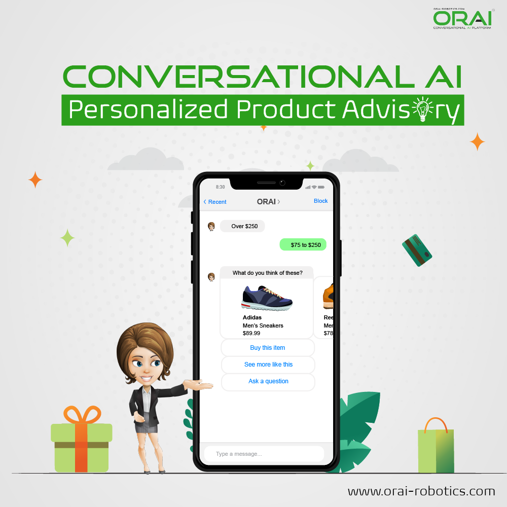 Orai's blog on Conversational AI for recommendation