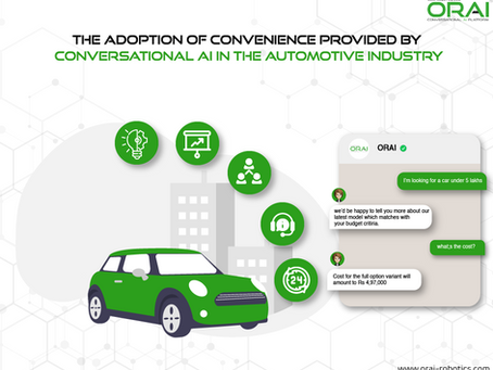 The Adoption of Convenience provided by Conversational AI in the Automotive Industry