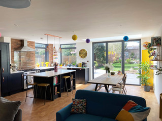 Charred Cladding & Cork Floors - A Different Kind of Family Room Extension