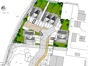 Permission for 9 New Dwellings in Rugby