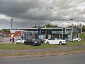 Permission granted for car park extension at Mercedes Benz of Worcester