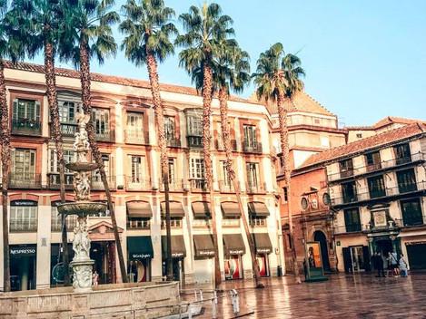 Wirtualny spacer po Maladze - Plaza de Constitucion