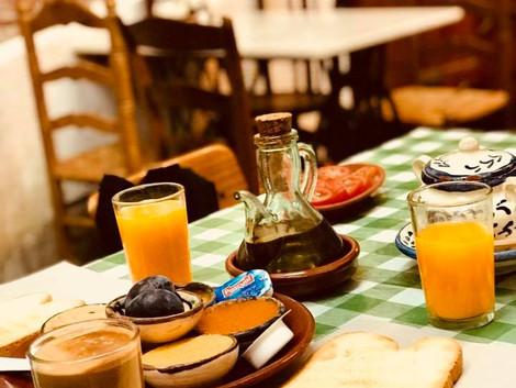Śniadanie w La Recova