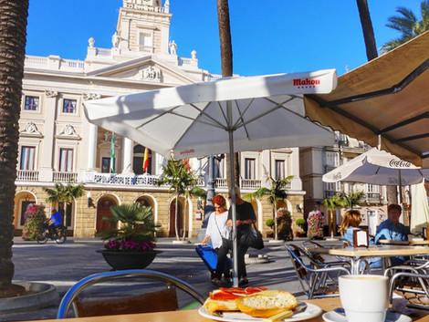 Sniadanie w Cadiz