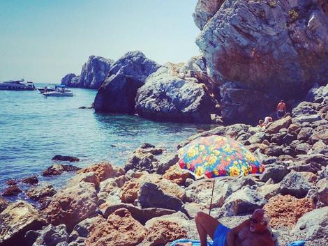 Malaga plaze