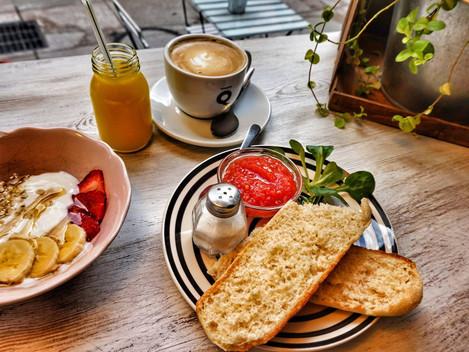 Pyszne sniadanie w Dream Dulces