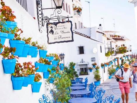 Mijas - pueblo blanco w prowincji Malaga