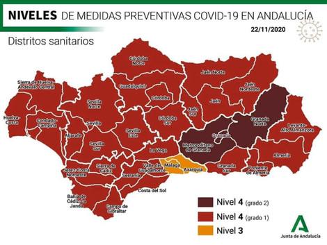 COVID-19 restrykcje w Andaluzji