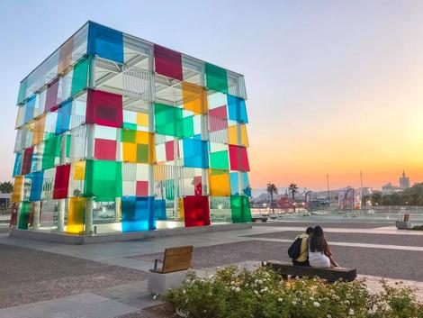 Muzea w Maladze - Centro Pompidou