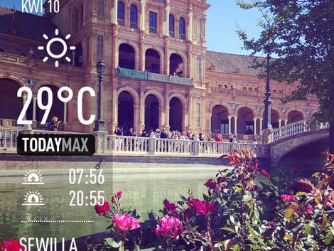 Lato w Sevilli :)