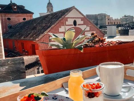 Śniadanie w Maladze