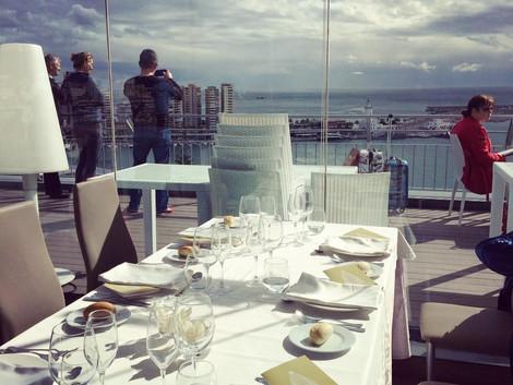 Lunch w Maladze :)