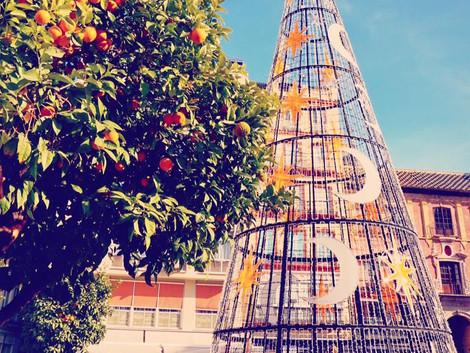 Boze Narodzenie w Maladze