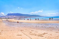 Przewodnik Malaga - Playa de Bolonia