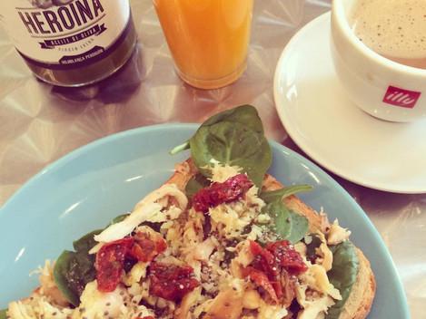 Desal na śniadanie w Maladze